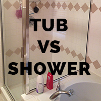Tub vs Shower